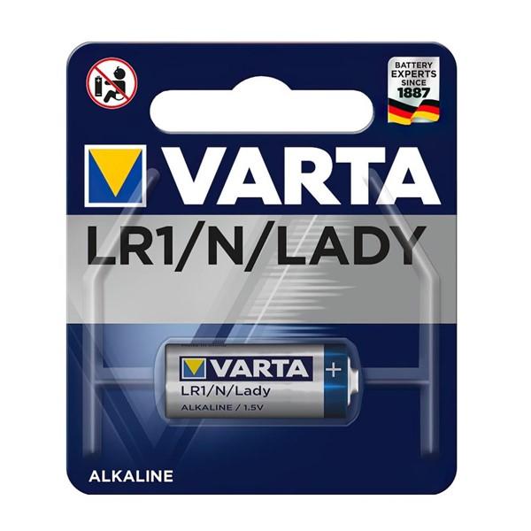Varta 4001 LR1 Lady 1.5V N Alkalin Pil