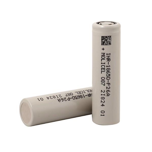Molicel INR-18650-P26A 2600 mAh 35A Dish...