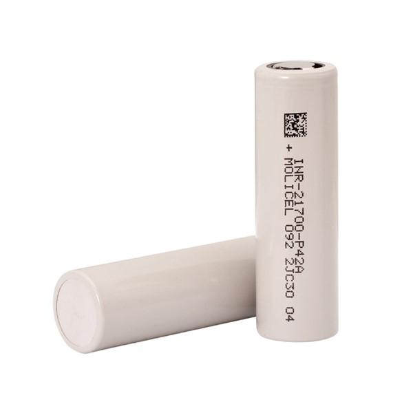 Molicel INR21700-P42A 4000 mAh 3.7 V Li-...