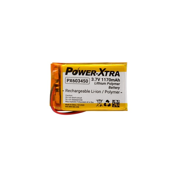 Power-Xtra 603450 3.7V 1170mAh Li-Polyme...