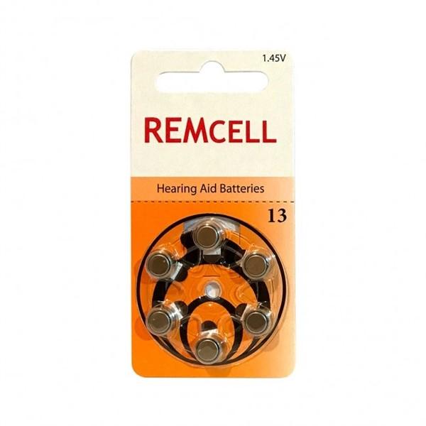 Remcell 13 Numara İşitme Cihaz Pili 6'...