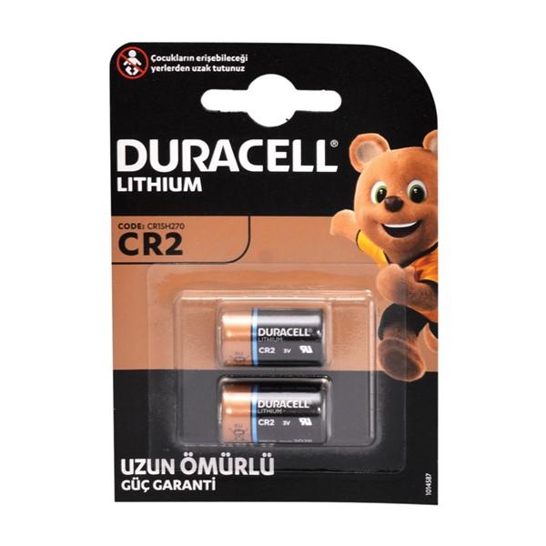 Duracell CR2 3V Lithium Pil 2'li