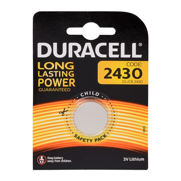 Duracell CR2430 3V Lithium Pil