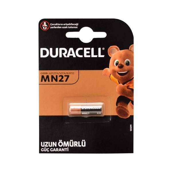 Duracell MN27, A27, 27A 12V Pil