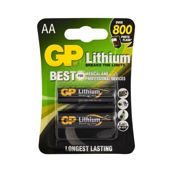 GP GP15LF AA 1.5V Lithium Kalem Pil 2'li