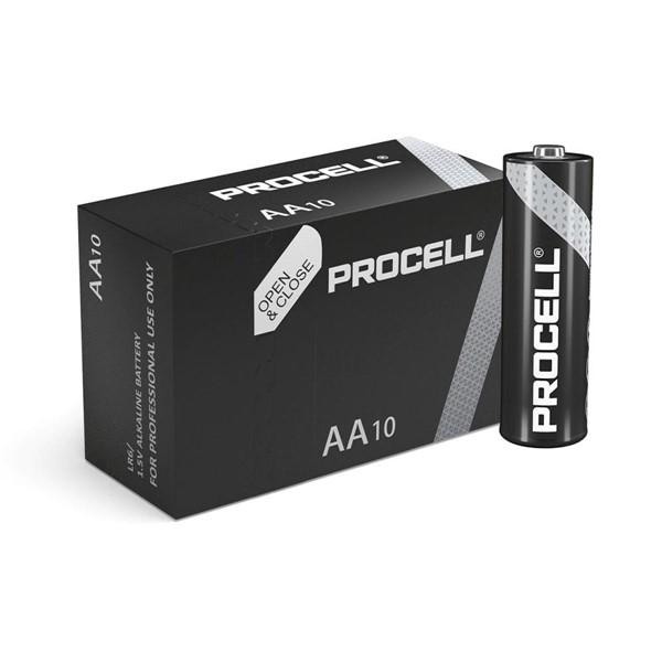 Duracell Procell Endüstriyel Kalem Pil Alkaline AA 10'lu