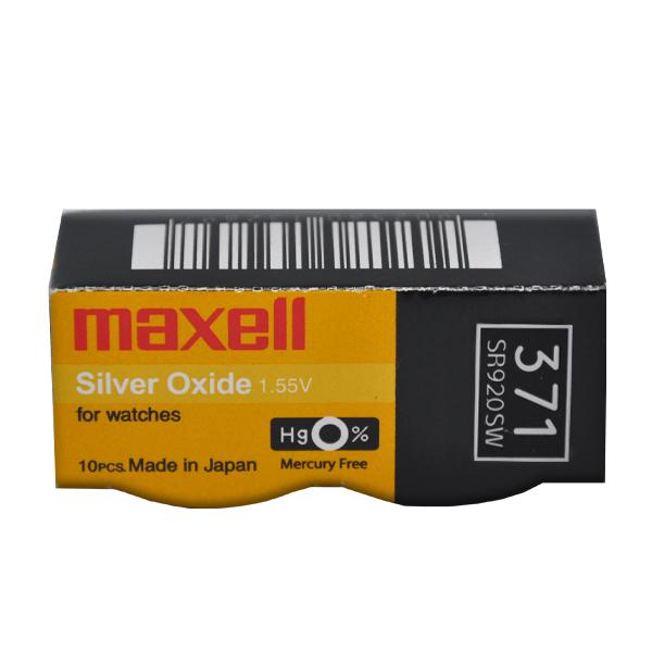 Maxell 371 SR920SW Saat Pili 10'lu