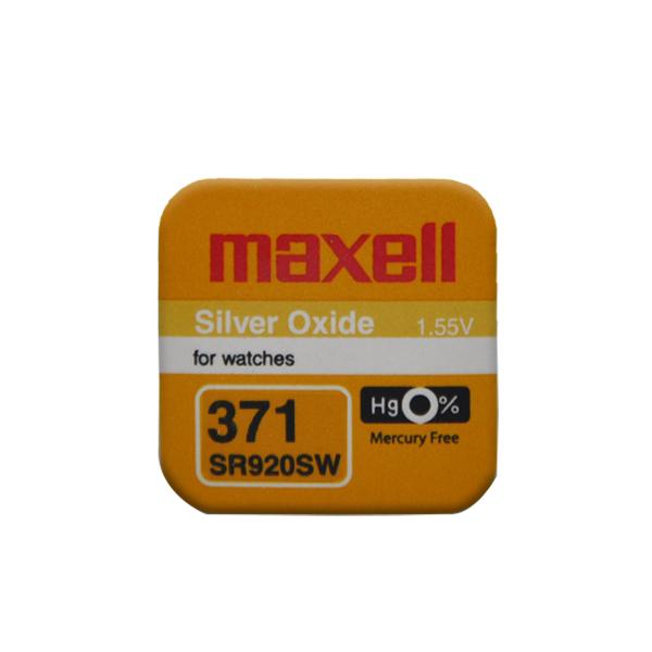 Maxell 371 SR920SW Saat Pili