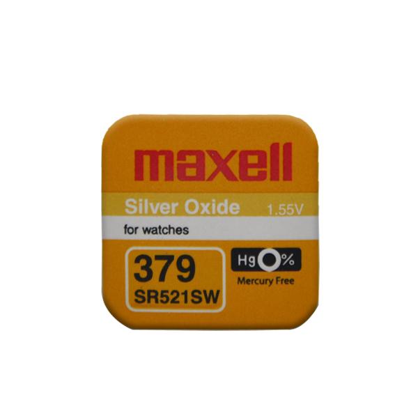 Maxell 379 SR521SW Saat Pili