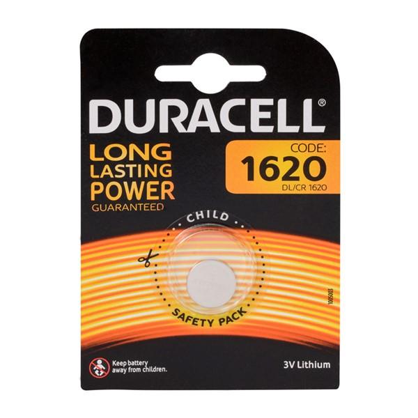 Duracell CR1620 Lithium 3V Pil