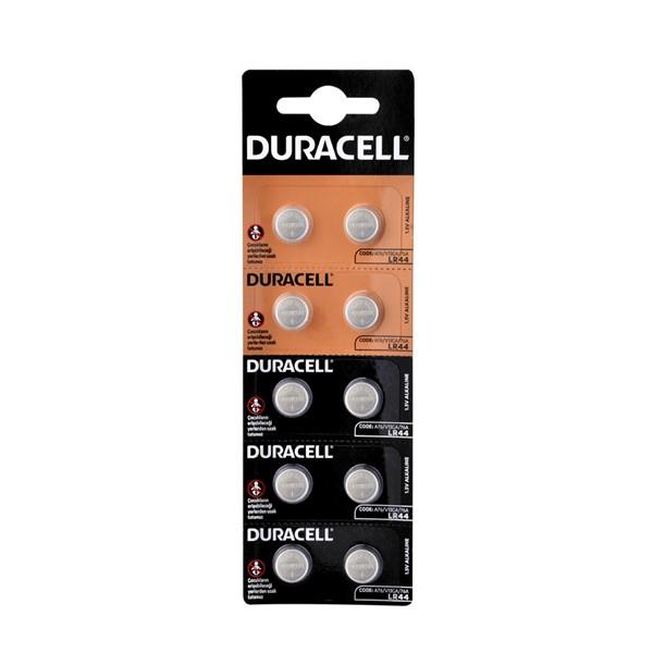 Duracell LR44 Pil 10'lu Blister