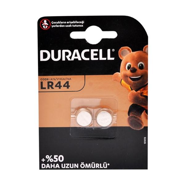 Duracell LR44 Pil 2'li Blister