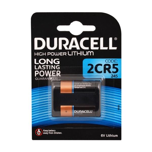 Duracell DL245, 2CR5 Ultra 6V Pil