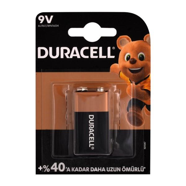 Duracell 9V Pil Alkalin