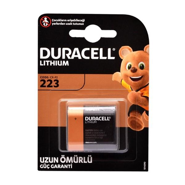 Duracell DL223, CRP2 6V Lithium Pil
