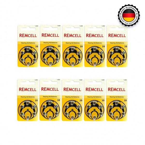 Remcell 10 Numara İşitme Cihaz Pili 6x...