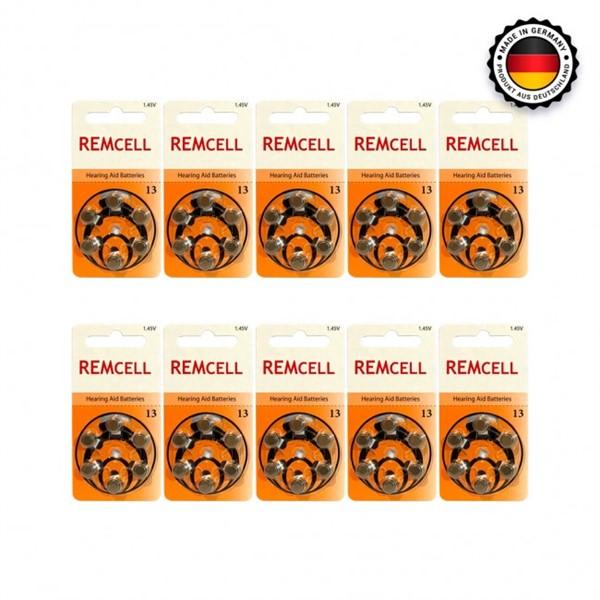 Remcell 13 Numara İşitme Cihaz Pili 6x...