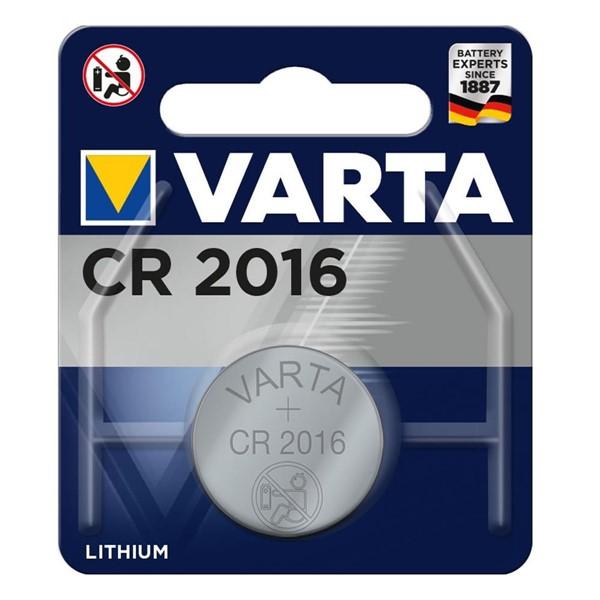 Varta 6016 CR2016 Lithium 3V Pil