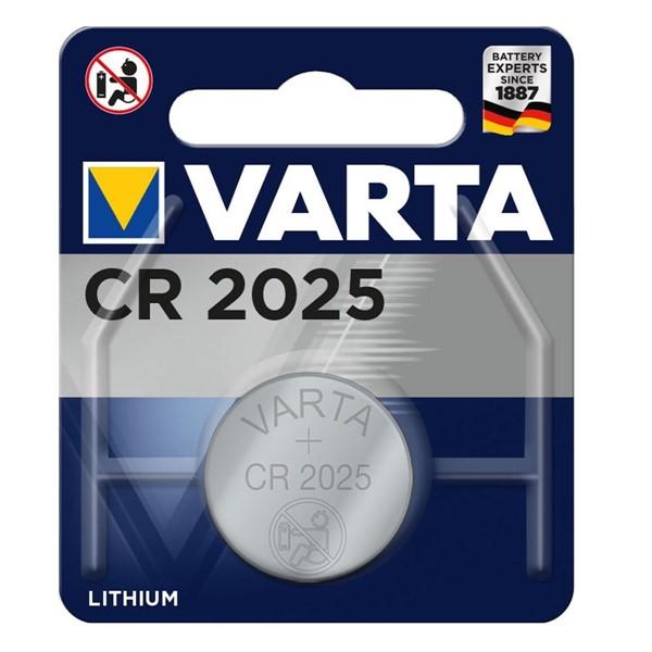 Varta 6025 CR2025 Lithium 3V Pil