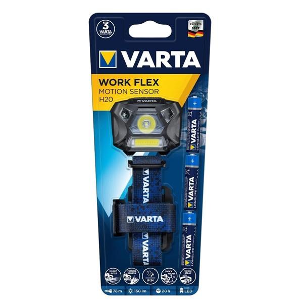 Varta 18648 Work Flex Motion Sensor Kafa...