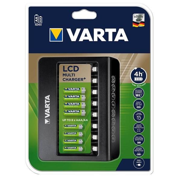 Varta 57681 LCD 8 Slot AA/AAA Pil Şarj ...