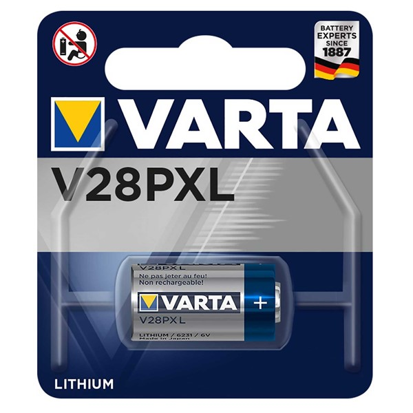 Varta 6231 V28PXL 6V Lithium Pil