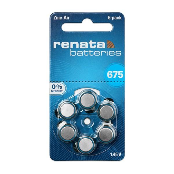 Renata 675 Numara İşitme Cihazı Pili ...