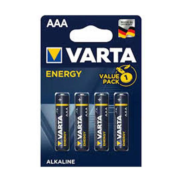 Varta 4103 Energy AAA İnce Kalem Pil 4'...