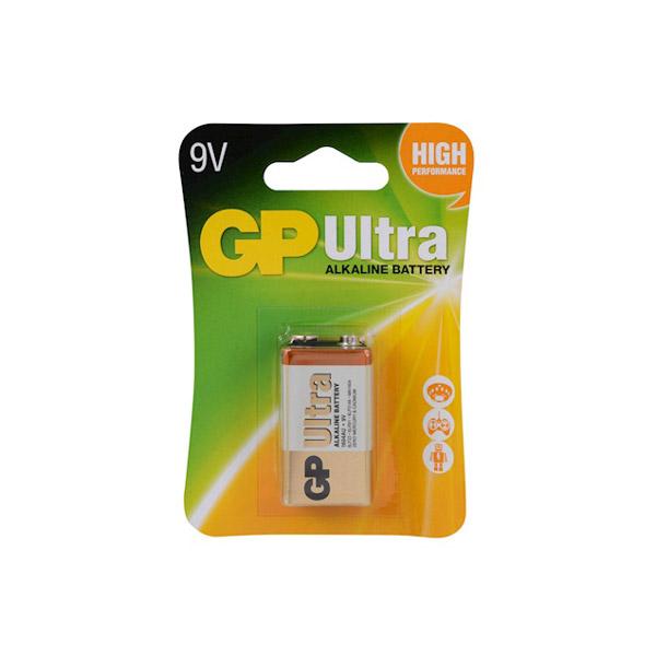 GP 9V Ultra Alkalin Pil