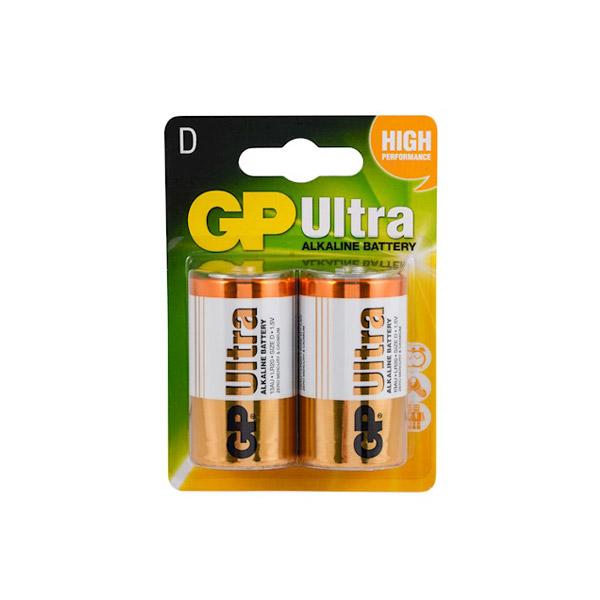GP Ultra Alkalin Büyük Boy Pil 2'li