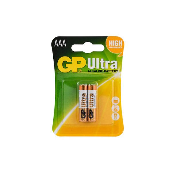 GP Ultra Alkalin İnce Kalem Pil 2'li