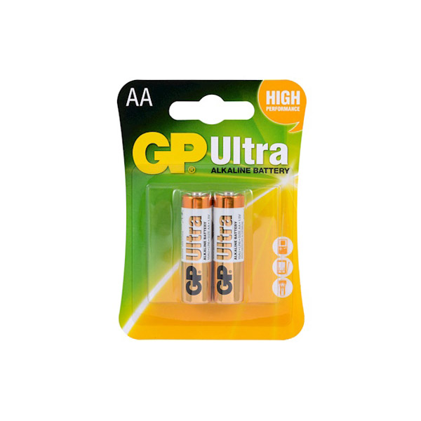 GP Ultra Alkalin Kalem Pil 2'li