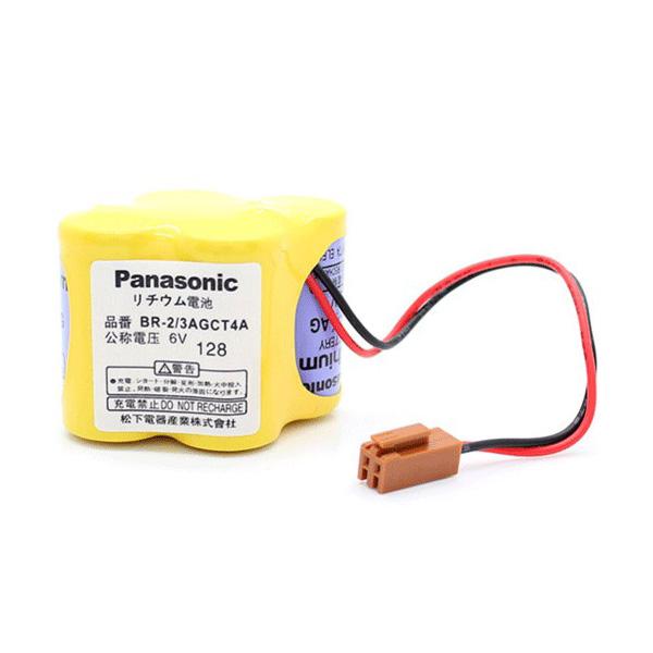 Panasonic BR-2/3AGCT4A 6V Lithium Pil
