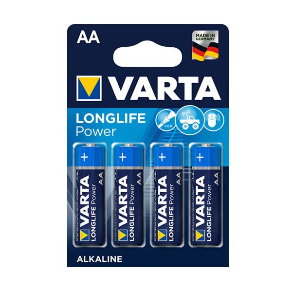Varta 4906 Longlife Power AA Kalem Pil 4'lü
