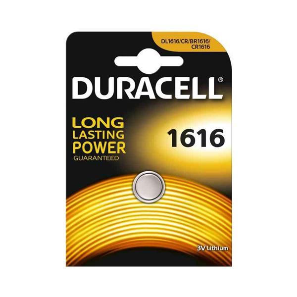 Duracell Cr 1616 3V Lithium Pil