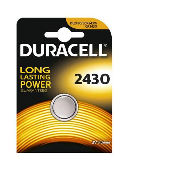 Duracell Cr 2430 3V Lithium Pil
