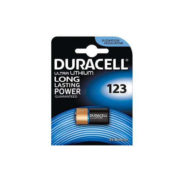 Duracell CR 123 A Lithium Pil