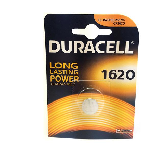 Duracell Cr 1620 Lithium 3V Pil