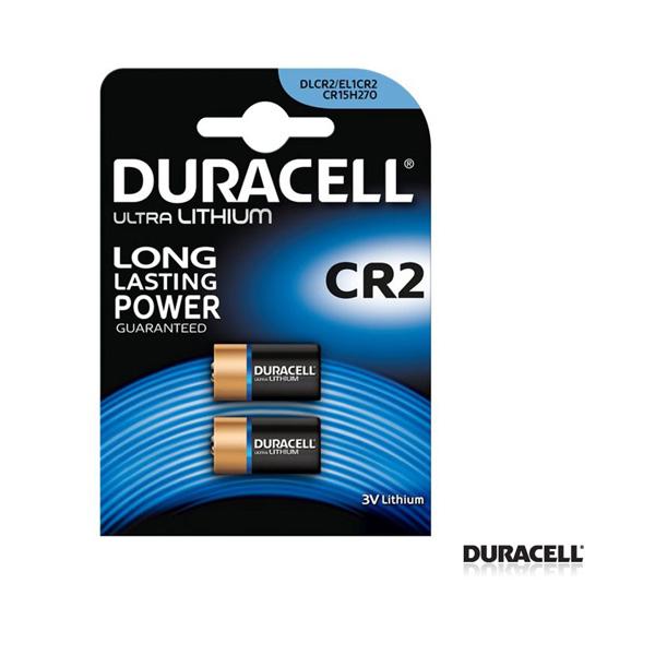 Duracell CR 2 Lithium Pil 2'li