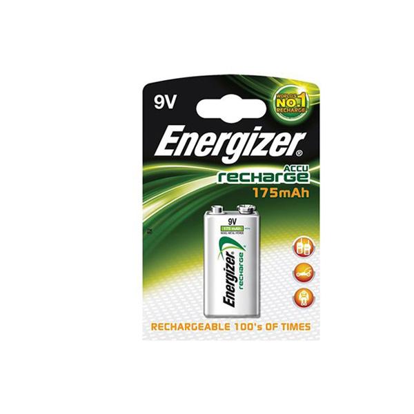 Energizer 9V  175 Mah Şarjlı Pil