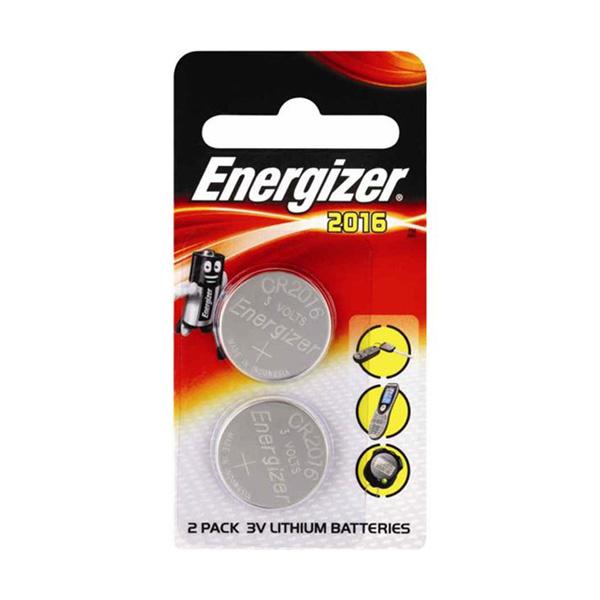 Energizer CR2016 Lithium Pil 2'li