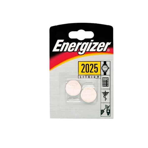 Energizer CR2025 Lithium Pil 2'li