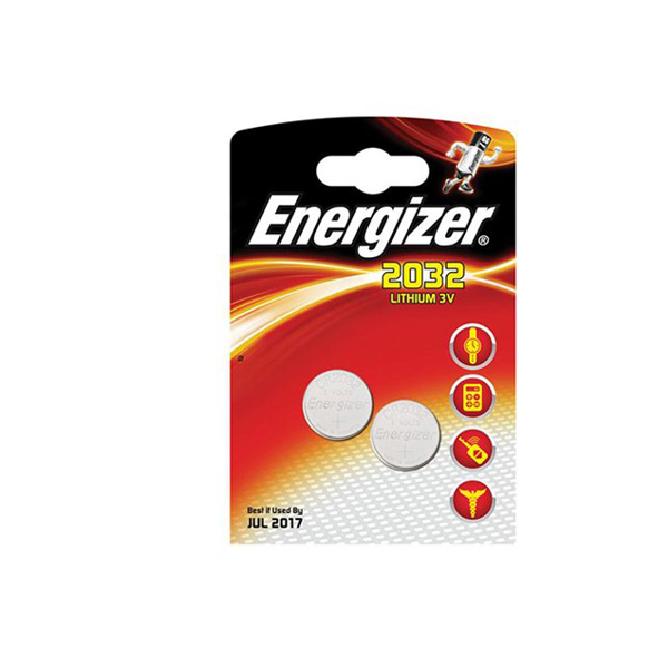 Energizer CR2032 Lithium Pil 2'li