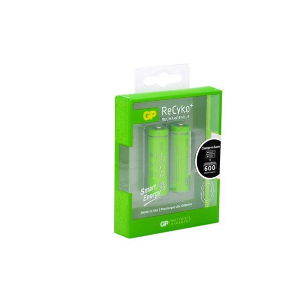 GP Recyko1000 mAh Ni-Mh Smart Energy AA ...