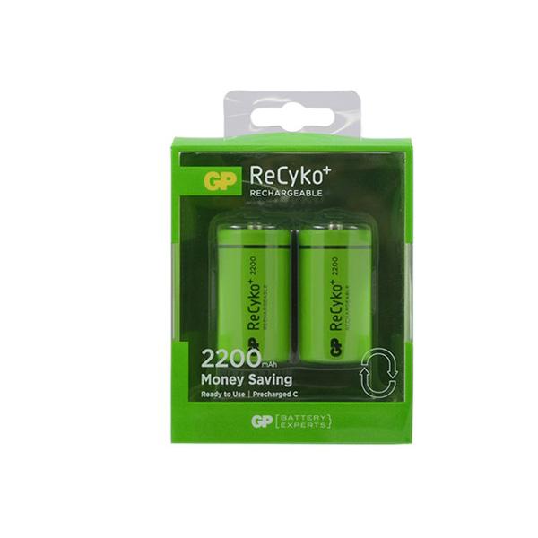GP Recyko C Size 2200 mAh Orta Boy Pil 2...